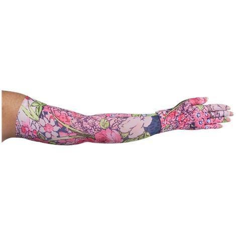 LympheDivas Bloomin Betty Dark Compression Arm Sleeve And Glove