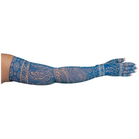 LympheDivas Blue Bandit Compression Arm Sleeve And Glove