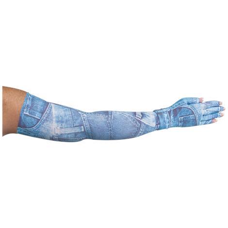 LympheDivas Denim Diva Compression Arm Sleeve And Glove