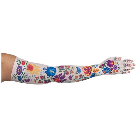 LympheDivas Flora Compression Arm Sleeve And Glove