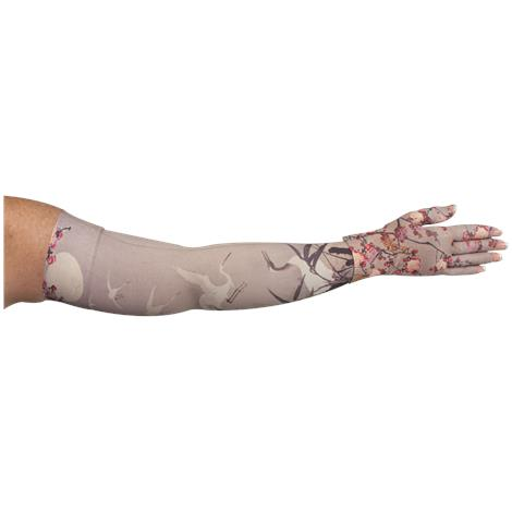 LympheDivas Plum Blossom Compression Arm Sleeve And Glove