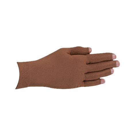 LympheDivas Mocha With Crystal Swirl Compression Glove