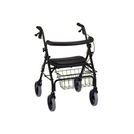 Nova Medical Mini Mack Heavy Duty Four-Wheel Rolling Walker or Rollator