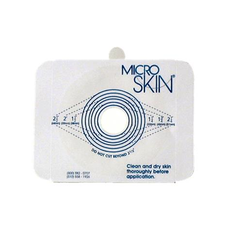 Cymed MicroSkin Two-Piece Large Cut-to-Fit Skin Barrier