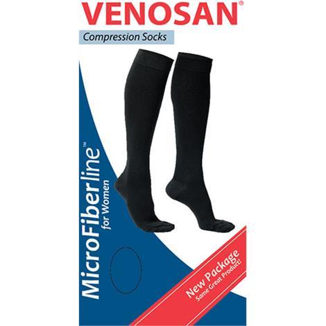 Venosan Microfiberline Closed Toe Below Knee 15-20mmHg Compression Socks for Women