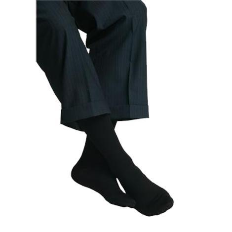 MAXAR Sheer 18-20mmHg Medium Graduated Compression Mens Trouser Socks