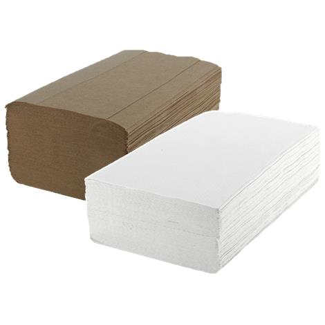 Medline Green Tree Single Fold Towels