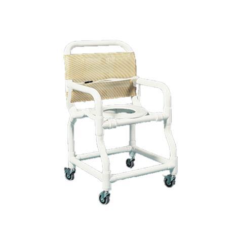 Duralife Shower Chair With Lower Rear Crossbar