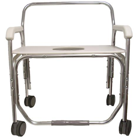 ConvaQuip Bariatric Transport Shower Chair with Bench Seat