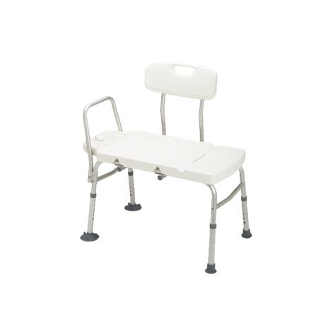 Guardian Non Padded Aluminum Transfer Bench