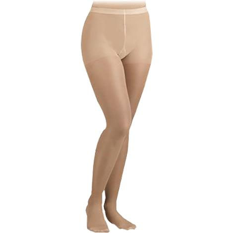 FLA Orthopedics Activa Sheer Therapy Graduated Closed Toe 15-20 mmHg Lite Support Pantyhose