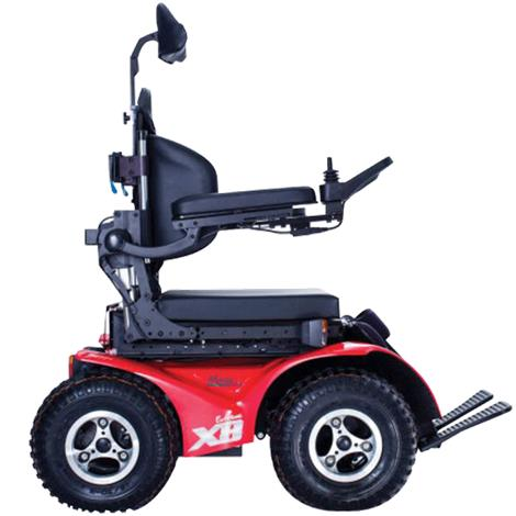 Magic Mobility Extreme X8 Power Wheelchair with Full Rehab Seating