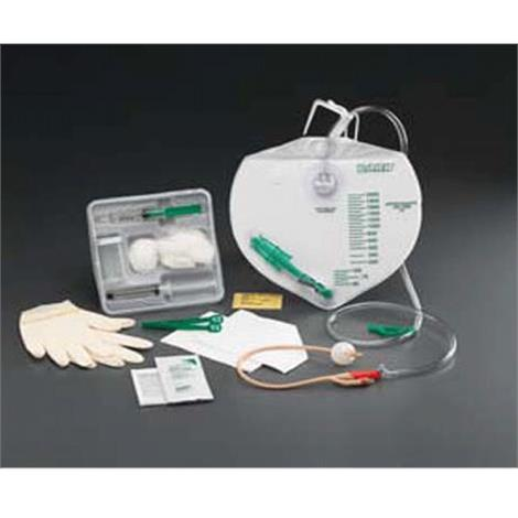 Bard Add-A-Foley Drainage Bag Tray With Safety-Flow Outlet Device