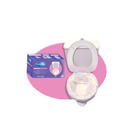 Cleanis CareBag Toilet Bowl Liner With Super Absorbent Pad