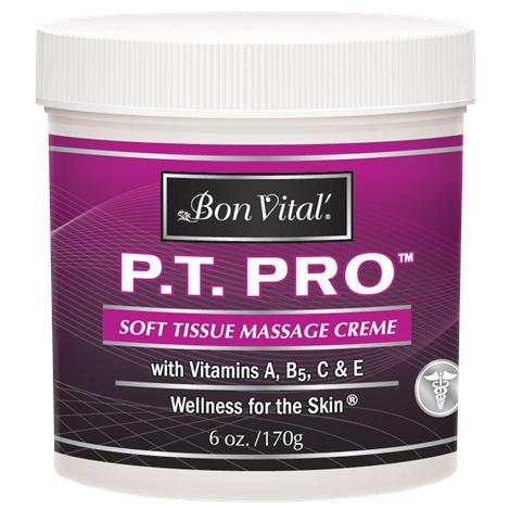 Bon Vital PT Pro Unscented Soft Tissue Massage Creme