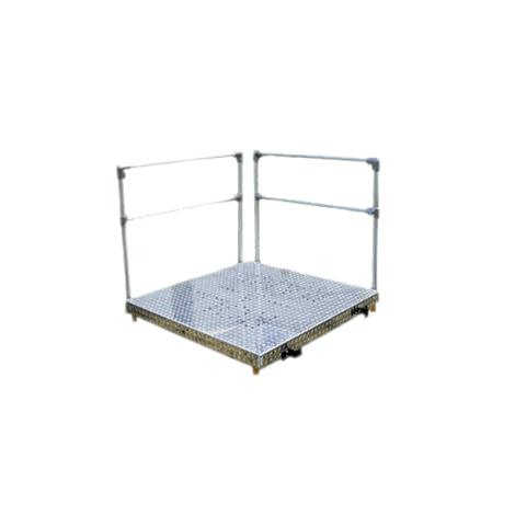 Roll-A-Ramp Aluminum Platform Kit