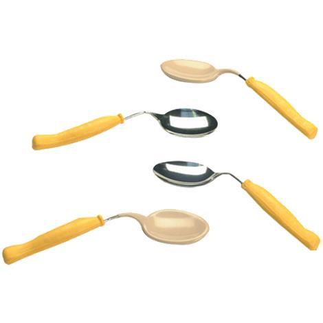 Plastisol-Coated Child Bent Spoon