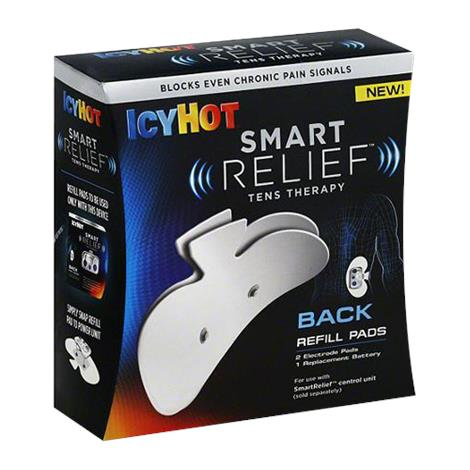 Chattem Icy Hot Smart Relief TENS Therapy Back Pain Refill Pad