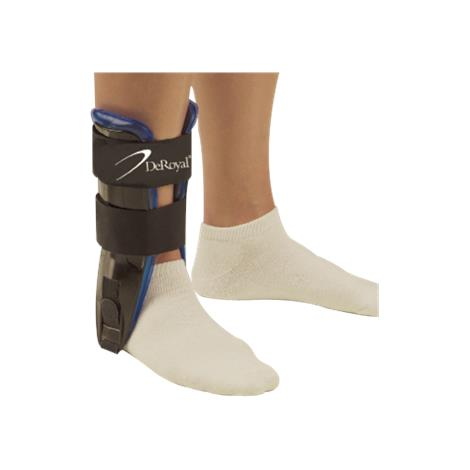 DeRoyal Air/Gel Ankle Stirrup with Swivel Straps