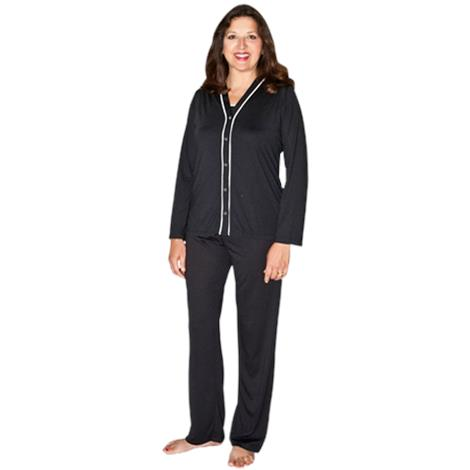 Cool-Jams Moisture Wicking Three Piece Jillian Pajama Set