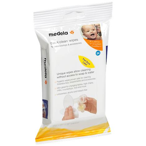 Medela Quick Clean Breast Pump and Accessory Wipes