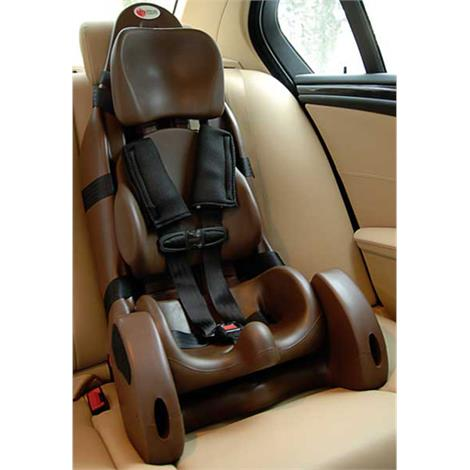 special tomato large mps car seat with contoured cushion support. Black Bedroom Furniture Sets. Home Design Ideas