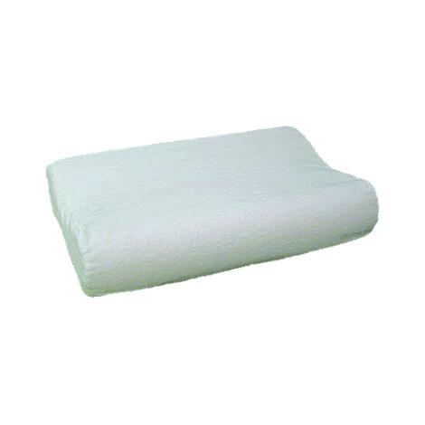 Mabis DMI Radial Cut Memory Foam Pillow