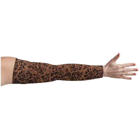 LympheDivas Damask Mocha Compression Arm Sleeve