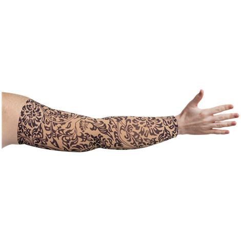LympheDivas Damask Bei Chic Compression Arm Sleeve
