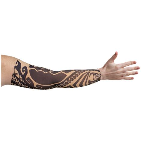 LympheDudes Fierce Beige Compression Arm Sleeve