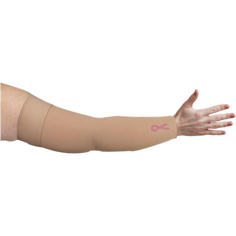 LympheDivas Bei Chic With Crystal Ribbon Compression Arm Sleeve