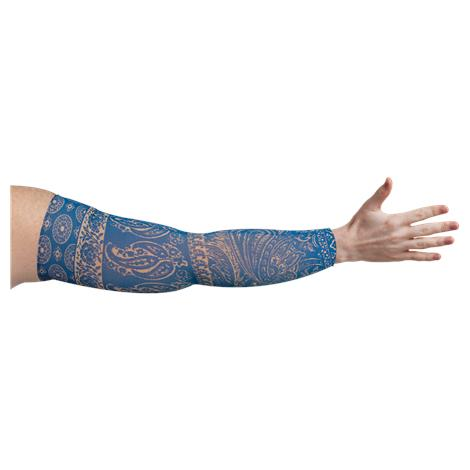 LympheDivas Blue Bandit Compression Arm Sleeve