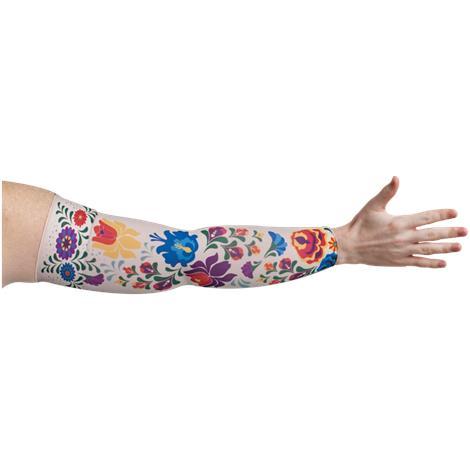 LympheDivas Flora Compression Arm Sleeve