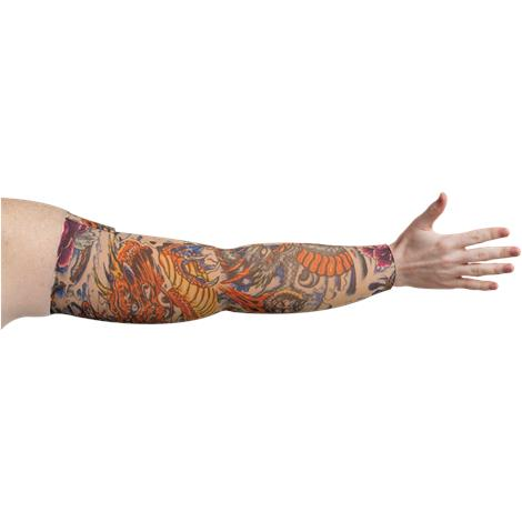 LympheDivas Lotus Dragon Tattoo Compression Arm Sleeve