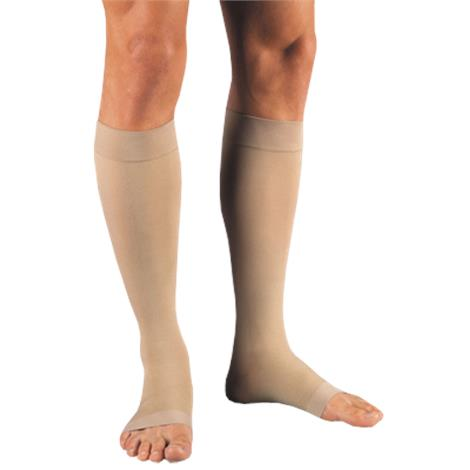 BSN Jobst Relief Open Toe Knee High 15-20mmHg Moderate Compression Stockings