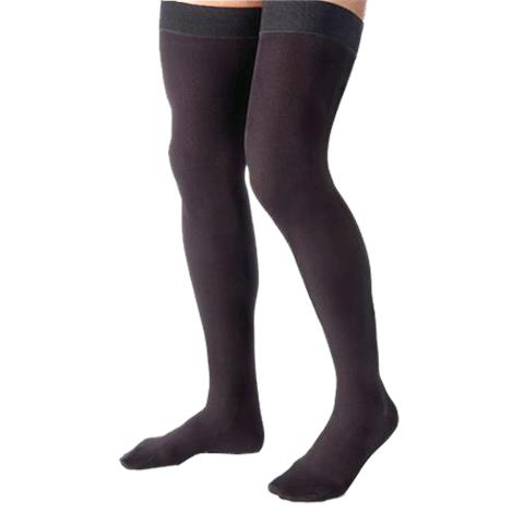 BSN Jobst for Men Thigh High 30-40mmHg Compression Stockings with Silicone Border