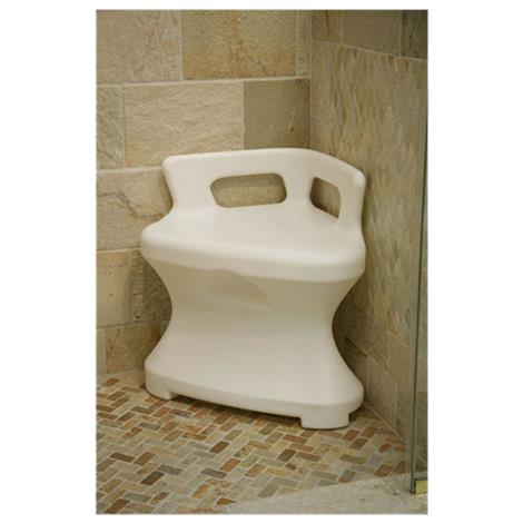 Maddak Corner Shower Seat