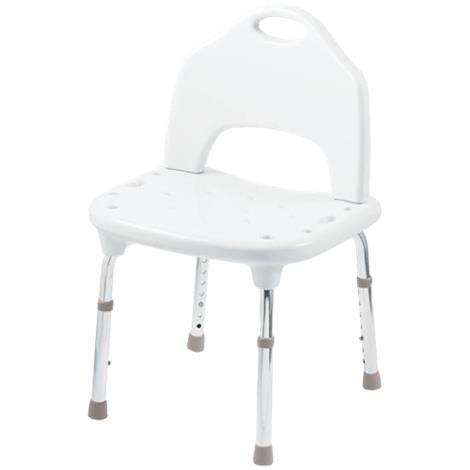 Moen Tool-Free Adjustable Glacier Shower Chair