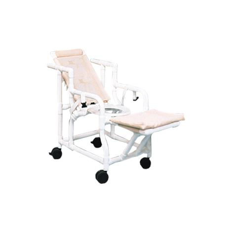 Duralife Reclining Shower Chair With Seat Belt