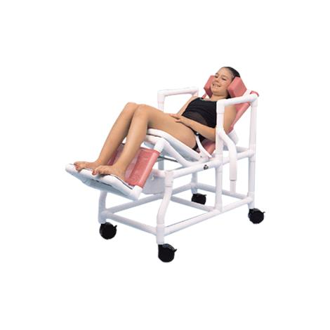 Duralife DuraTilt  Dual Swing Arm Shower Commode Chair