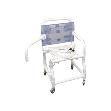Duralife Swing Arm Shower Chair With Seat Belt