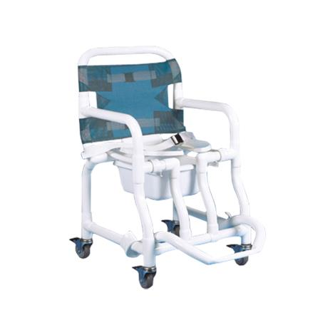 Buy Duralife Deluxe Open Front Shower And Commode Chair
