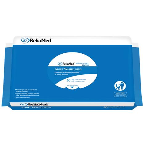 ReliaMed Soft Pack Adult Wipes