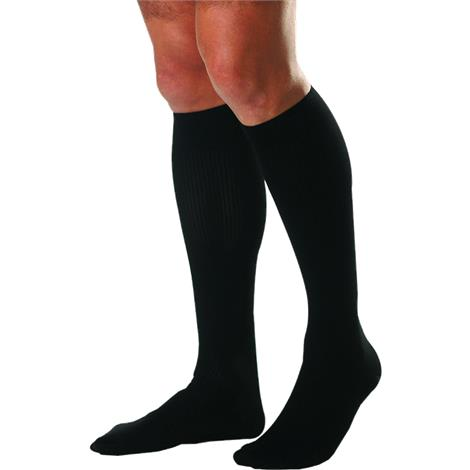 BSN Jobst for Men Tall Closed Toe Knee High Casual 30-40mmHg Compression Socks