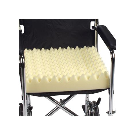 DeRoyal Convoluted Foam Wheelchair Cushion