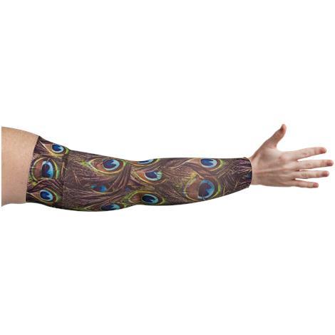 LympheDivas Peacock Compression Arm Sleeve