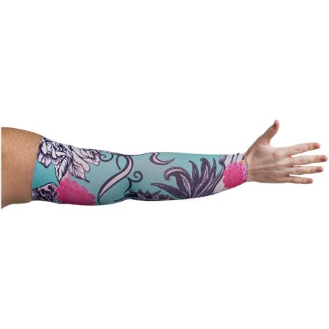 LympheDivas Tattoo Blossom Compression Arm Sleeve