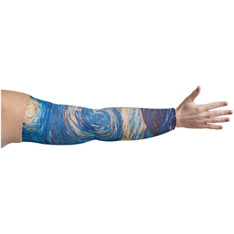 LympheDivas Starry Night Compression Arm Sleeve