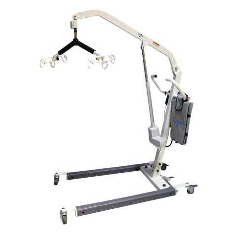 Medline Heavy-Duty Battery-Powered Elevating Floor Patient Lift