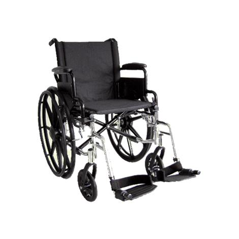 ITA-MED 16 Inch Lightweight Wheelchair with Height Adjustable Back WR16-400